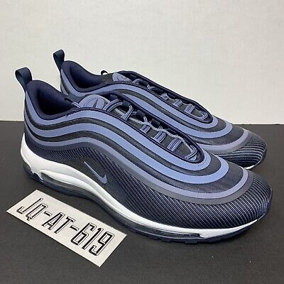 0a5429bf8c2b NIKE AIR MAX 97 Ultra  17 Obsidian Navy Blue 918356-401 Size 9 ...