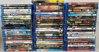 Lot of 66 Assorted Blu-ray Movies