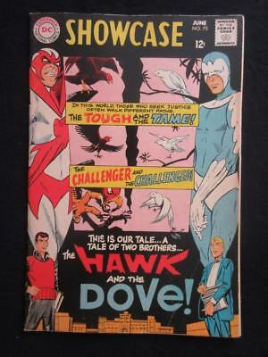 Showcase #75 DC 1968 - ORIGIN and 1st app Hawk and Dove!