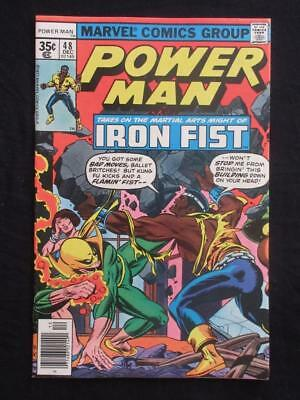 Power Man #48 MARVEL 1977 - NEAR MINT 9.2 NM - Stan Lee!