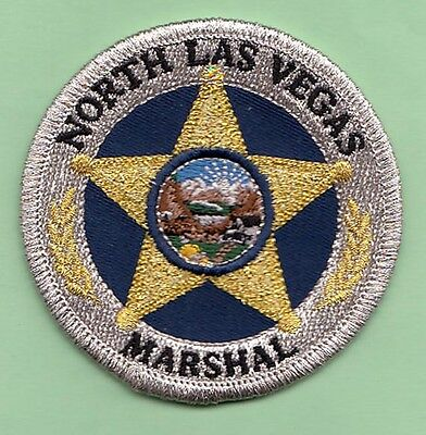J5 * Gb Marshal Service North Las Vegas Nevada State Shape Police Swat Patch