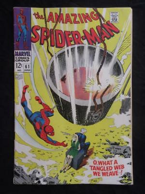 Amazing Spider-Man #61 MARVEL 1968 - 1st cover app Gwen Stacy!