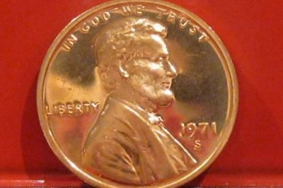 1971 S  Lincoln Cent Proof