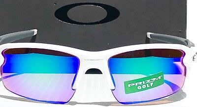 31bd370da8 NEW  Oakley FLAK JACKET 2.0 White PRIZM GOLF Lens Sunglass oo9295-06