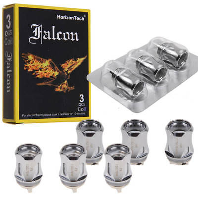 3Pcs/Pack HorizonTech Falcon Replacement Mesh Coils M1 0.15 ohm / F3 0.2ohm