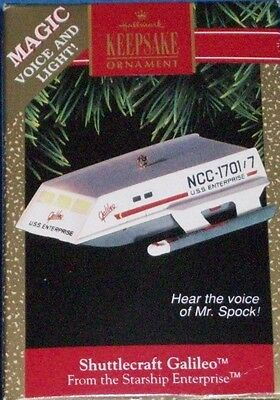 Hallmark Keepsake Ornament - Star Trek - Magic - SHUTTLECRAFT GALILEO