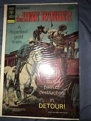 Gold Key The Lone Ranger #26 September 1976 A Hijacked Gold Train Comic Book