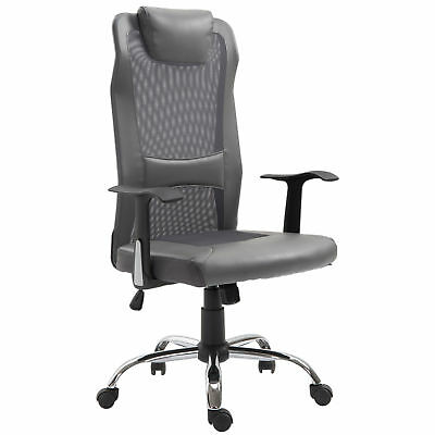 High Back Mesh Office Chair Swivel Computer Desk Task Executive Seat Grey