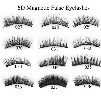 4Lots Triple Magnetic False Eyelashes Extension Tools Full Coverage Lashes Thick