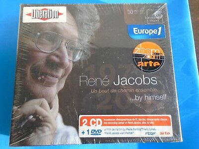 Rene Jacobs:  By Himself, 2 CD Set with 1 DVD includes Booklet  ***NEW SEALED***