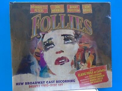 Elaine Paige: Follies New Broadway Cast Recording Deluxe 2 Disc CD Set w/Booklet