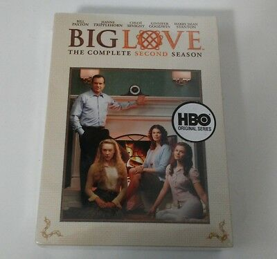 Big Love: Complete Season Two 2 DVD Set HBO New Sealed