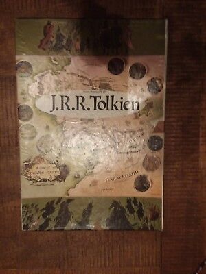 J.R.R.Tolkien 1971 Giant Poster Puzzle Map Middle Earth Lord of the Rings