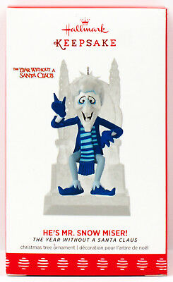 2017 HE'S MR SNOW MISER NEW Hallmark Ornament The Year Without A Santa Claus