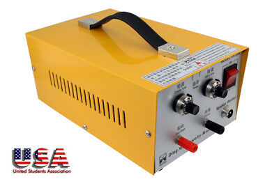 110V Electric Pulse Sparkle Spot Welder Jewelry Gold Silver Welding Machine