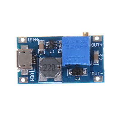 2A Booster Board DC-DC Step-up Module 2/24V Boost To 5/9/12/28V GN