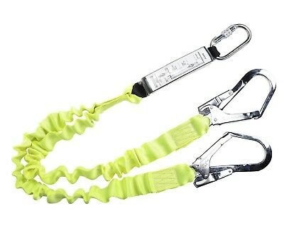 Portwest Double Lanyard Shock Absorber Scaffold Fall Arrest Safety Harness FP52