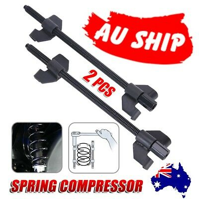 2x Coil Spring Compressor Clamp Heavy Duty Quality 380mm Car Truck Auto Tool Set