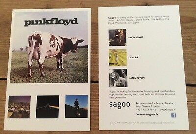 Pink Floyd promotional postcard would look great framed