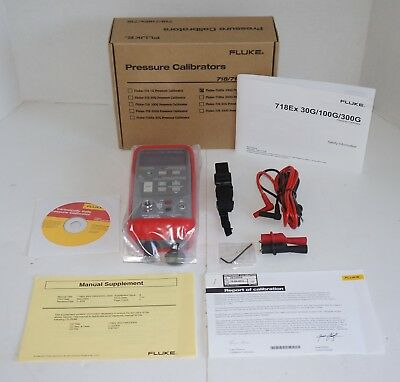 Fluke 718Ex-100G Intrinsically Safe Pressure Calibrator New