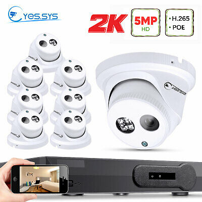HDMI 2.0MP 8CH POE NVR CCTV Security System 4/6/8pcs 1080P IP Camera 1TB/2TB AU