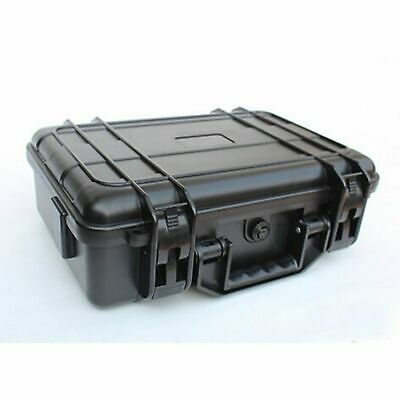 Black Hard Plastic Carry Case Tool BOX Portable Organizer For Protecting tools