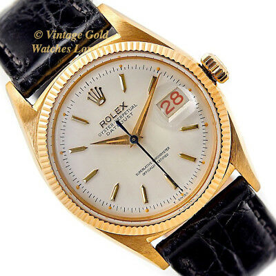 Rolex Oyster Perpetual Datejust, 18Ct, 1954, 'Roulette' - Immaculate!