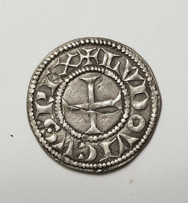 Medieval Crusader Cross Coin  11 - 12th Century, medieval silver.