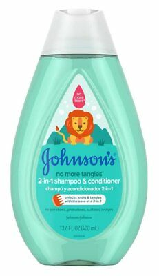 Johnsons Baby Shampoo & Conditioner 2-In-1 13.6 Ounce (400ml) (6 Pack)