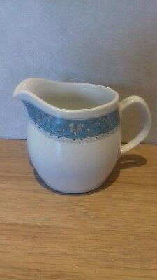 Royal Doulton..cream Jug..marina..blue And White...jug..pottery..retro
