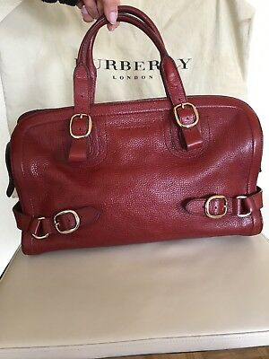 3a3dd45851364 Burberry Damentasche Tasche Bag Bordeaux