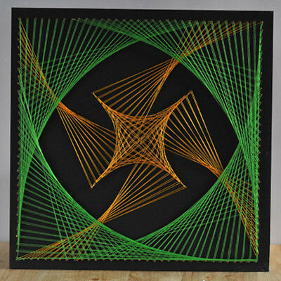 Funny String Art Kit Crafts Project Kit DIY Geometric Winding Painting Gifts