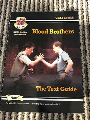 GCSE English - Blood Brothers by Willy Russell. CGP Books. Text Guide.