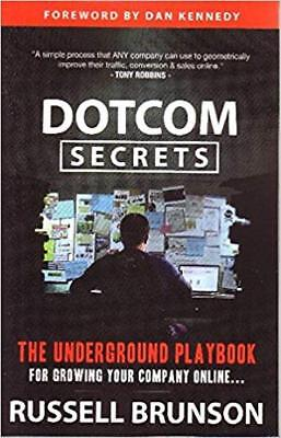 DotCom Secrets:The Underground Playbook for Growing Your Company Online BOOK.PDF