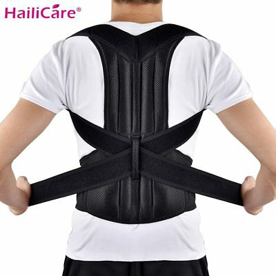 Hailicare® Back Brace Posture Corrector Back Support Shoulder Belt Lumbar Spine