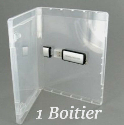 Boitier type DVD pour 1 clef USB