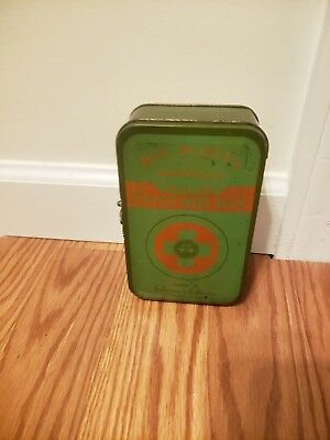 Vintage Boy Scouts of America,Official First Aid Kit,Johnson & Johnson.