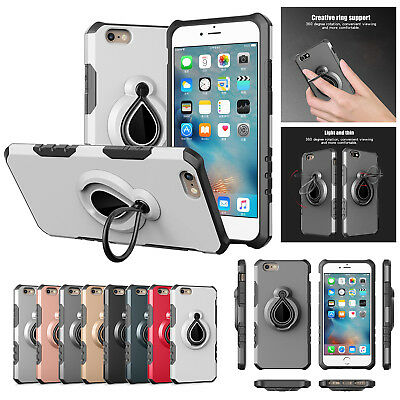 Shockproof Case For iphone 6/s Plus Hybird Heavy Duty TPU Rubber Protector Cover