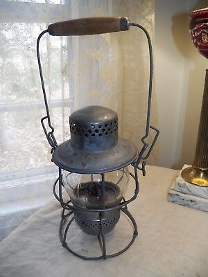 Canadian Pacific Railroad Railway Kerosene Lantern Made by Hiram L. Piper Ltd.
