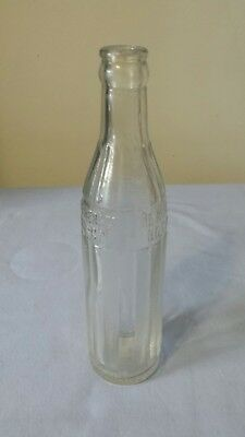 Vintage BELL BEVERAGE BOTTLING CO Soda Pop Bottle Glass 1931 Cleveland Ohio EC