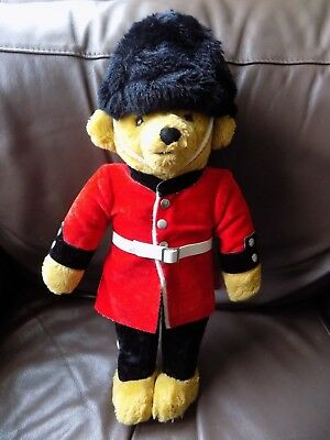 Vintage Merrythought London Guard Guardsman Teddy Bear Approx 17""
