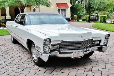 1968 Cadillac Sedan Deville with 77k Actual Miles 1968 Cadillac Sedan Deville Power Steering Power Brakes Factory Air Condition