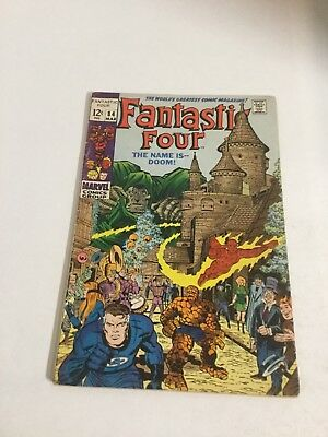 Fantastic Four 84 Vg/Fn Very Good/Fine 5.0 Marvel Comics Silver Age