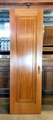 "Antique Door/Single Panel/Solid Wood/Interior Door 77 3/8"" x 23 3/4"" x 1 5/16"""