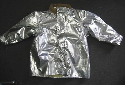FireDex Firefighter Proximity Jacket Size 52 x 35 R Aluminized Turn Out