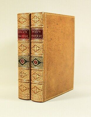 Bell Travels St Petersburg Russia To Asia 1763 1st ed. Beautiful Period Binding