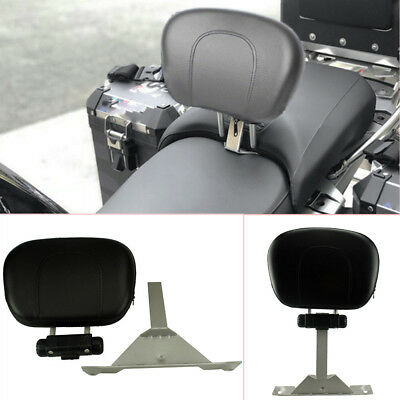 Adjustable Motorcycle Driver Backrest Fit for BMW R1200GS Adventure 13-18 Solid