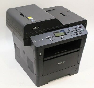 Brother DCP-8150DN Multifunction Laser Printer Copy Fax Scan - W/Toner