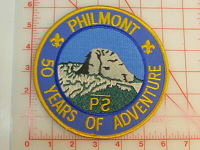 Philmont Scout Ranch 50 Years of Adventure JACKET collectible patch   (oT)