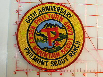 Philmont Scout Ranch 60th Anniversary JACKET collectible patch   (oT)
